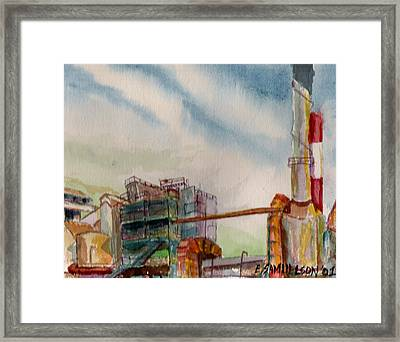 Paia Mill 2 Framed Print
