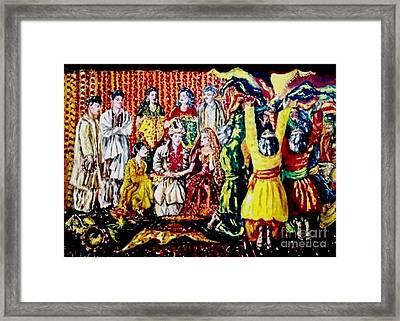 Pakistani Wedding Framed Print