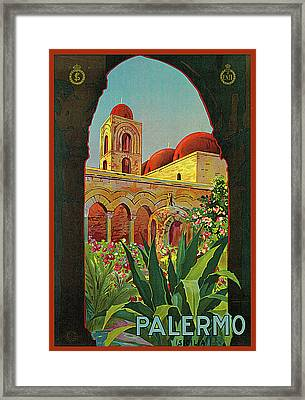 Palermo Framed Print by Mario Paschetto