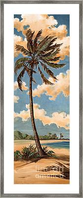 Palm Breeze II Framed Print by Paul Brent