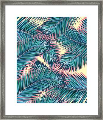 Palm Trees  Framed Print by Mark Ashkenazi