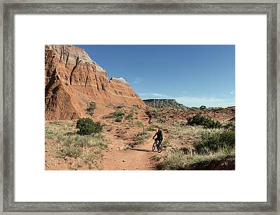 Palo Duro Canyon State Park In The Texas Panhandle Framed Print by Carol M Highsmith