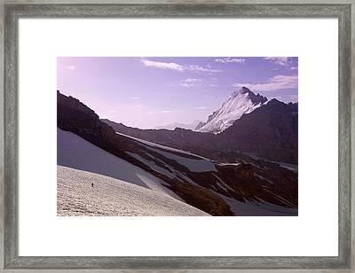Pamir Framed Print by Konstantin Dikovsky
