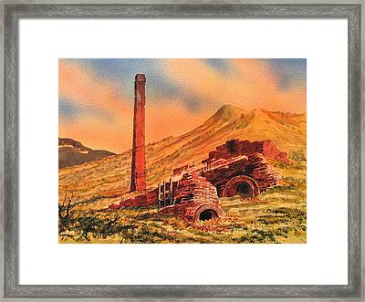 Panamint City Ghost Town California Framed Print by Kevin Heaney