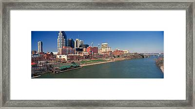 Panoramic Morning View Of Cumberland Framed Print