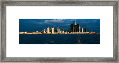 Panoramic Sunrise View Of Renaissance Framed Print