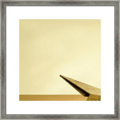 Paper Airplanes Of Wood 7-1 Framed Print