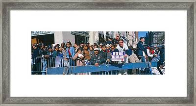 Parade For 1998 World Series Champions Framed Print