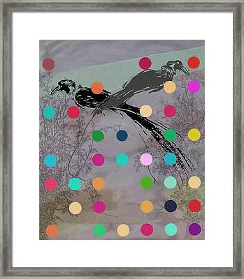 Paradise Birds Framed Print