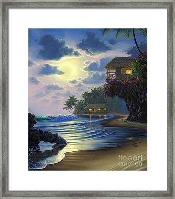 Paradise Found Framed Print