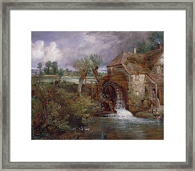 Parham Mill, Gillingham Framed Print