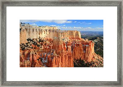 Paria Point In Bryce Canyon Framed Print by Pierre Leclerc Photography