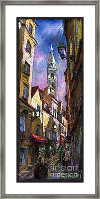 Paris Montmartre  Framed Print