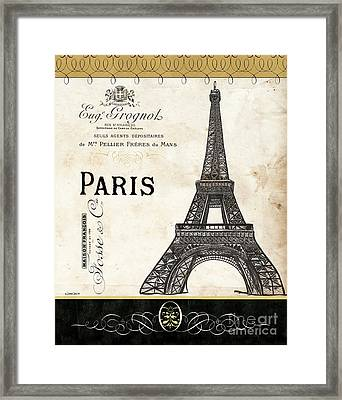 Paris Ooh La La 1 Framed Print