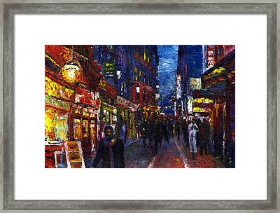 Paris Quartier Latin 01 Framed Print by Yuriy  Shevchuk