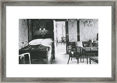 Parlour Suite Of Titanic Ship Framed Print