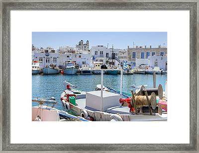Paros - Cyclades - Greece Framed Print
