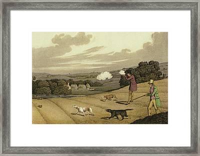 Partridge Shooting Framed Print