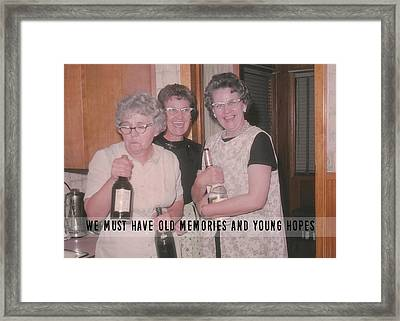 Party Time Quote Framed Print by JAMART Photography