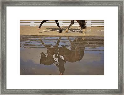 Pas De Deux Reflection Framed Print by JAMART Photography