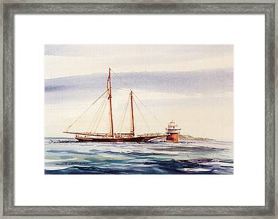 Passing Bug Light Framed Print