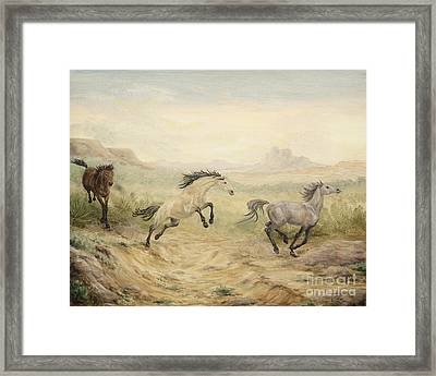 Passing Through Framed Print by Cathy Cleveland