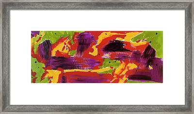 Passion Fruit Pie Framed Print by Dan Houston