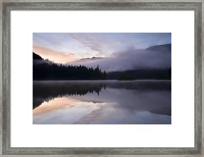 Pastel Dawn Framed Print by Mike  Dawson