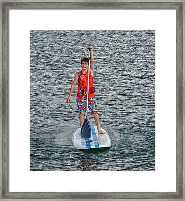 Patrick 2 Framed Print by John Hoey