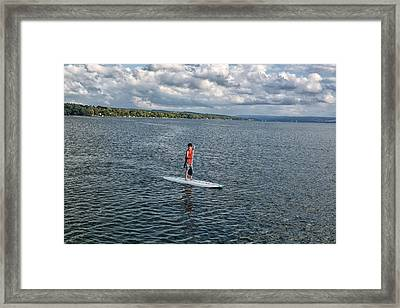 Patrick 6 Framed Print by John Hoey