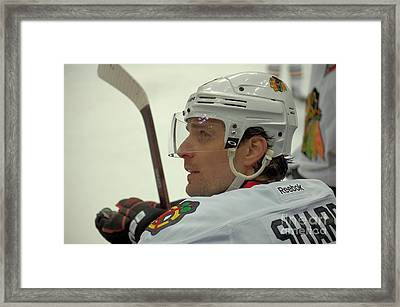 Patrick Sharp Framed Print by Melissa Goodrich