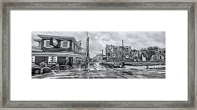 Pat's And Geno's 2 Framed Print by Jack Paolini