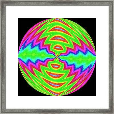 Pattern 103 Framed Print