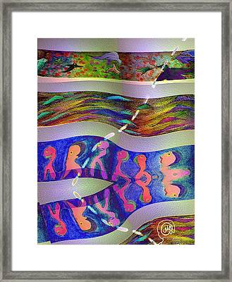 Pattern 254 _ Joy Framed Print