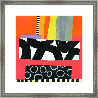 Pattern Grid # 15 Framed Print by Jane Davies