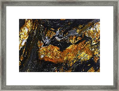Patterns In Stone - 218 Framed Print
