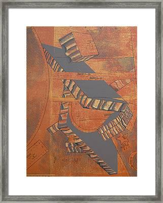 Patterns Series Number Three Framed Print by Sonja Olson
