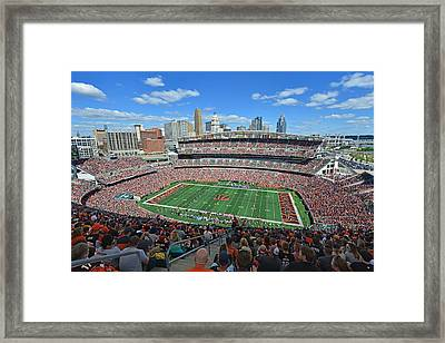 Paul Brown Stadium - Cincinnati Bengals Framed Print