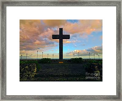 Paul Fagan's Memorial Framed Print by Frank Wicker