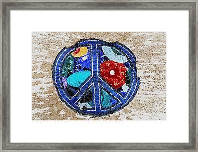 Peace  Framed Print by Juls Adams