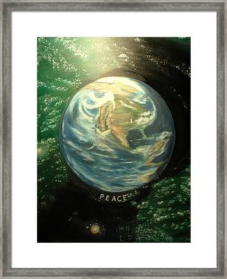 Peace Framed Print by Kenneth LePoidevin