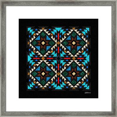 Peace Pipe Ceremony Framed Print