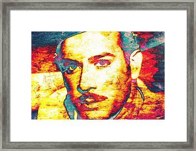 Pedro Infante Framed Print