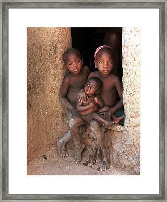Pegue Toulou 1983 Framed Print by Huib Blom