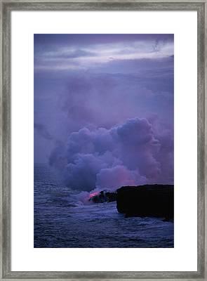 Pele Framed Print by Gary Cloud