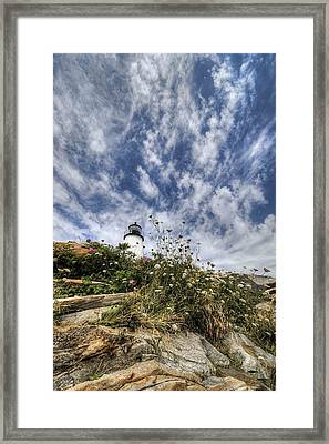 Pemaquid Light Framed Print