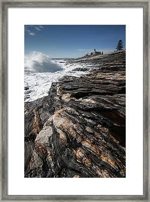 Pemaquid Lighthouse Framed Print