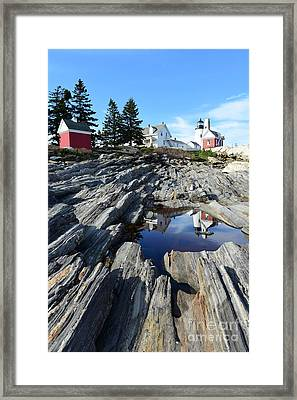 Pemaquid Point Light Framed Print