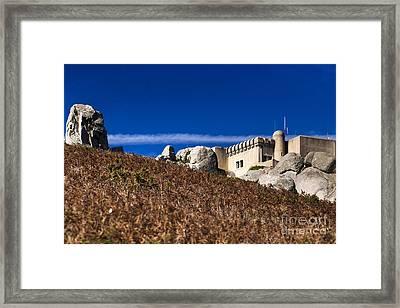 Peninha In Sintra Natural Park Framed Print by Andre Goncalves