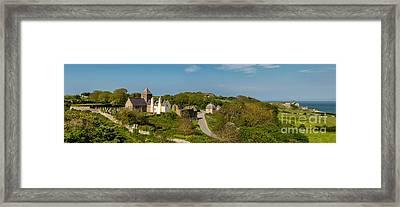 Penmon Priory Framed Print